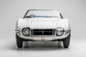 Thank the Late Sir Sean Connery for the Toyota 2000GT Convertible